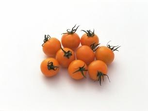 オレンジミニトマトの写真素材 [FYI02354428]