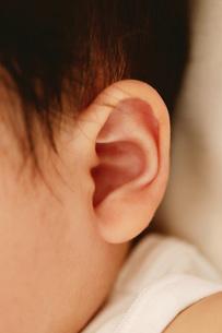 赤ちゃんの耳の写真素材 [FYI02354656]