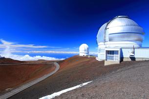 ハワイ島 マウナ・ケア山頂天文台群 ジェミニ天文台の写真素材 [FYI02355186]