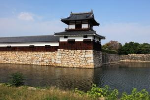 広島城堀と太鼓櫓の写真素材 [FYI02355198]
