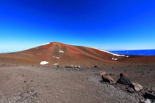ハワイ島 マウナ・ケア山頂の写真素材 [FYI02355250]