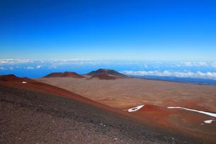 ハワイ島 マウナ・ケア山の写真素材 [FYI02355277]