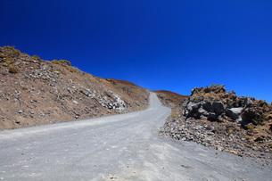 ハワイ島 マウナケア・アクセスロードの写真素材 [FYI02355291]