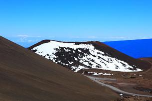 ハワイ島 マウナ・ケア山の写真素材 [FYI02355321]