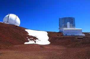 ハワイ島 マウナ・ケア山すばる望遠鏡の写真素材 [FYI02355328]