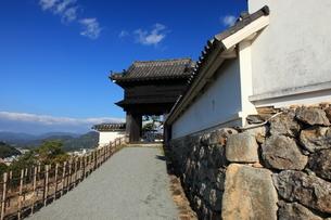 高知城黒鉄門の写真素材 [FYI02355345]