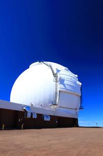 ハワイ島 マウナ・ケア山頂天文台群 W.M.ケック天文台の写真素材 [FYI02355514]