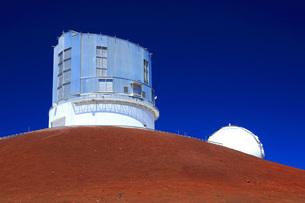 ハワイ島 マウナ・ケア山すばる望遠鏡の写真素材 [FYI02356057]