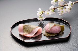 桜餅の写真素材 [FYI02356230]