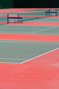 テニスコートの写真素材 [FYI02356351]