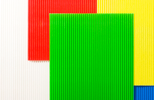 カラー段ボールの集合の写真素材 [FYI02356799]