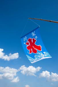 かき氷の旗の写真素材 [FYI02356832]