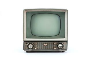 昭和30年代のナショナルテレビの写真素材 [FYI02356889]