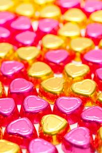 ハートのチョコレートの集合の写真素材 [FYI02356952]