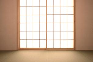 障子と畳の写真素材 [FYI02357000]