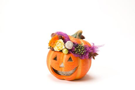 ハロウィンのかぼちゃの写真素材 [FYI02357336]