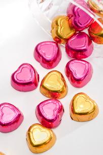 ハートのチョコレートの写真素材 [FYI02357437]