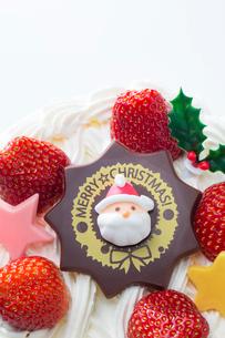 クリスマスケーキの写真素材 [FYI02357790]