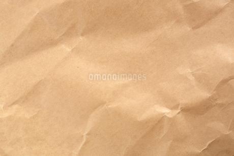しわのクラフト紙の写真素材 [FYI02358627]