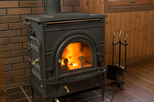 暖炉の写真素材 [FYI02358826]