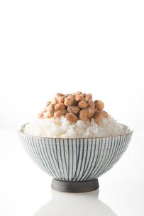 ご飯と納豆の写真素材 [FYI02358887]