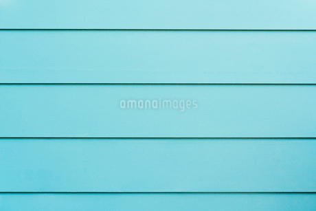 ブルーの板壁の写真素材 [FYI02359255]