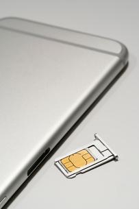 SIMカードの写真素材 [FYI02359293]