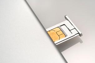 SIMカードの写真素材 [FYI02359383]