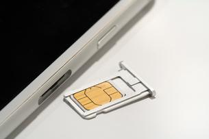 SIMカードの写真素材 [FYI02359466]
