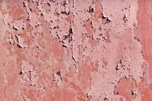 錆びた鉄板の写真素材 [FYI02359481]