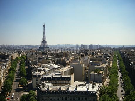 パリの街並みの写真素材 [FYI02360161]