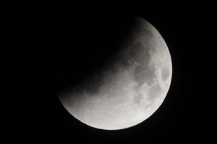 部分月食の写真素材 [FYI02362774]