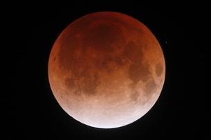皆既月食の写真素材 [FYI02362830]