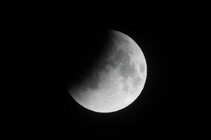 部分月食の写真素材 [FYI02362898]