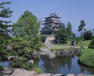 上諏訪の高島城の写真素材 [FYI02362947]