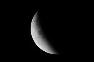 部分月食の写真素材 [FYI02362998]