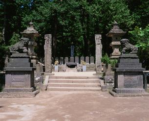 白虎隊士の墓の写真素材 [FYI02363008]