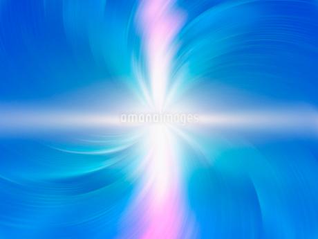 回転する光と空間の写真素材 [FYI02363458]