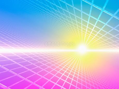 光とグリッドの写真素材 [FYI02363584]