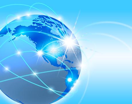 地球ネットワークのイラスト素材 [FYI02363623]