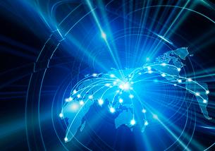 光ネットワークの写真素材 [FYI02363850]
