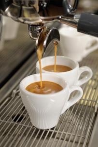 エスプレッソコーヒーの写真素材 [FYI02364036]