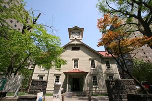 札幌時計台の写真素材 [FYI02366381]