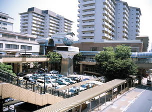 JR芦屋駅の写真素材 [FYI02368132]