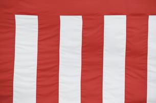 紅白幕の写真素材 [FYI02368968]
