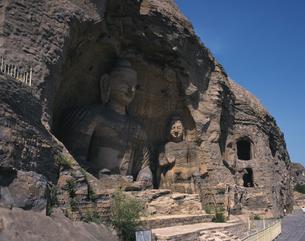 雲崗石窟の写真素材 [FYI02369756]