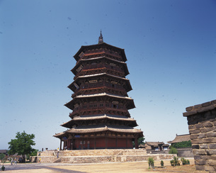 木塔寺の写真素材 [FYI02371474]