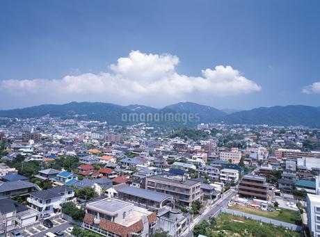 山の手住宅街の写真素材 [FYI02372459]