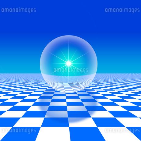 球体のイラスト素材 [FYI02373423]