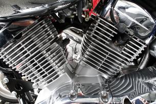 バイクのエンジンの写真素材 [FYI02376758]